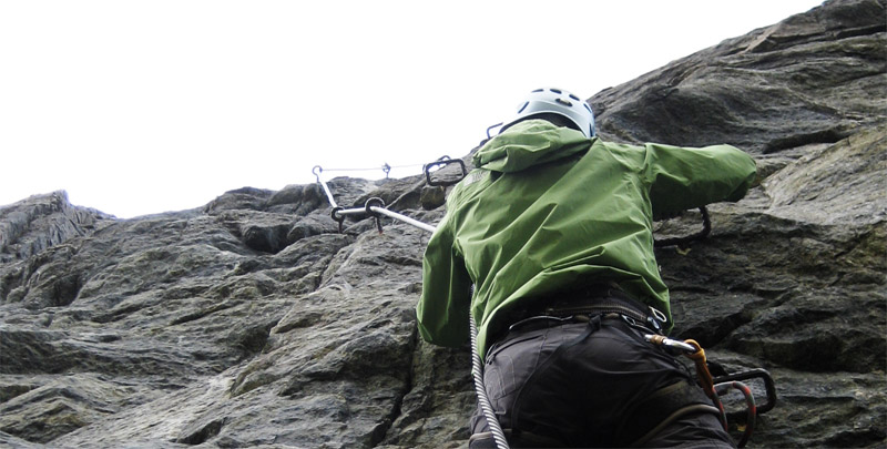 Klettersteig Croda Dei Toni : Jausenstation siggi burgstein bei längenfeld klettersteig